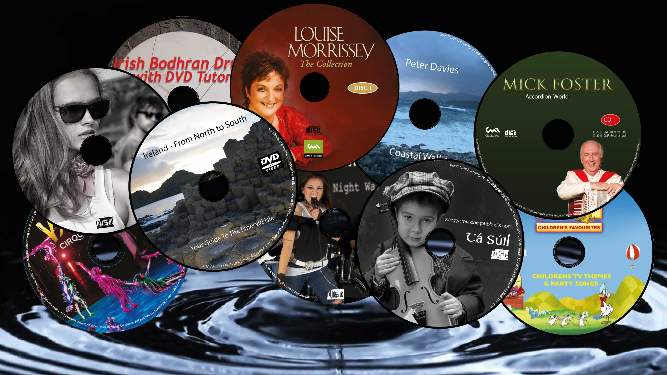CD, DVD & Blu-Ray Duplication Europe